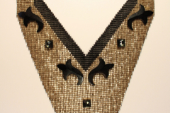 loom woven deca beads, glass